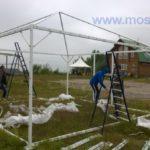 Монтаж палатки