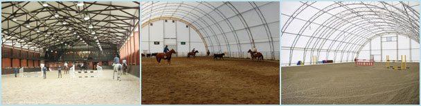 Манежи для лошадей