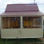 Прозрачные шторы пвх цена