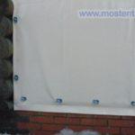 Рулонные прозрачные шторы из пвх