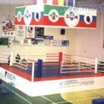 Боксерский ринг с помостом