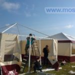 Как мы ставили палатки
