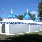 Модульный шатровый павильон