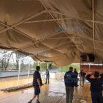 Укрытие крыши
