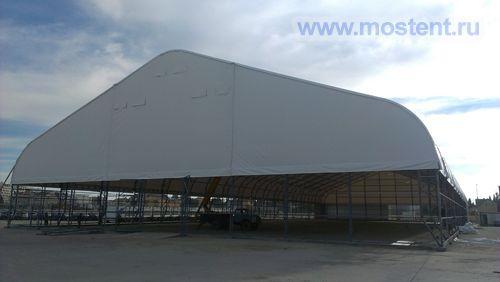 Огромный ангар в Сочи