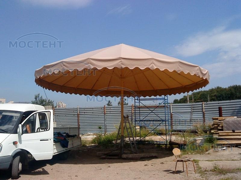 Дачный зонт