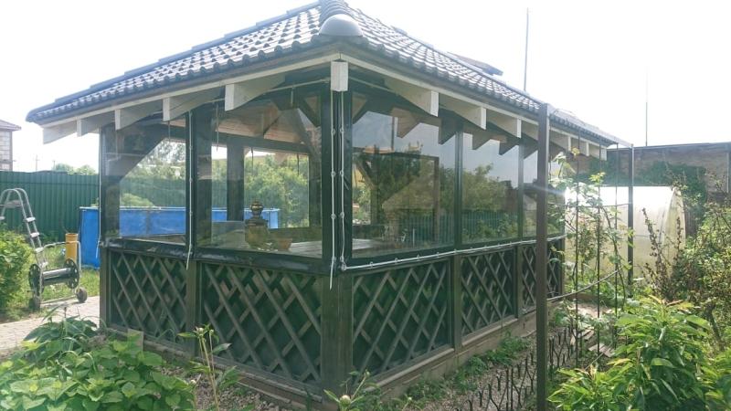 Гибкие окна для веранды