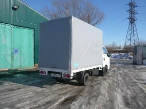 Тенты на грузовые автомобили KIA