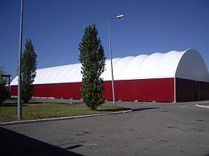 Многопролетные здания