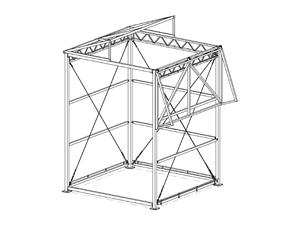 Промышленная палатка