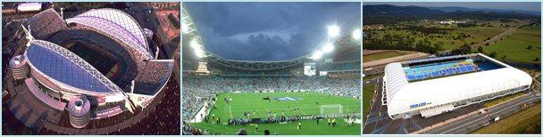 Стадионы из тента