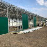Стеновые панели ангара