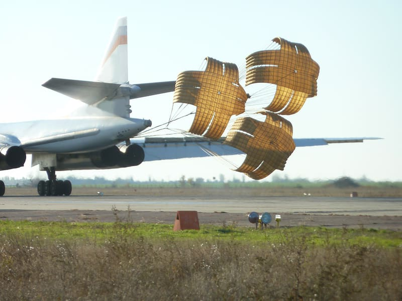 Тормозной парашют из авизента